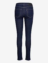 Levi's Made & Crafted - LMC 721 S LMC SKI SOFT RINSE - skinny jeans - dark indigo - flat finish - 1