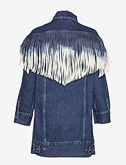 Levi's Made & Crafted - LMC OVRSZD RANCH DRESS LMC RIG - shirt dresses - dark indigo - flat finish - 1