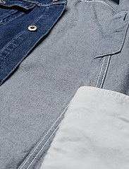 Levi's Made & Crafted - LMC OVRSZD RANCH DRESS LMC RIG - shirt dresses - dark indigo - flat finish - 4