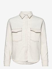Levi's Made & Crafted - LMC SHRUNKEN DNM SHIRT 2 LMC E - jeansblouses - neutrals - 0