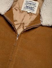 Levi's Made & Crafted - LMC QUILTED ZIP JACKET LMC DAR - denim jackets - neutrals - 3