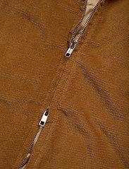 Levi's Made & Crafted - LMC QUILTED ZIP JACKET LMC DAR - denim jackets - neutrals - 5