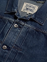 Levi's Made & Crafted - LMC TYPE II WORN TRUCKER LMC Y - kurtki dżinsowe - med indigo - worn in - 2