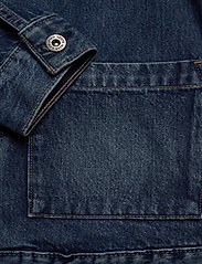 Levi's Made & Crafted - LMC TYPE II WORN TRUCKER LMC Y - kurtki dżinsowe - med indigo - worn in - 3