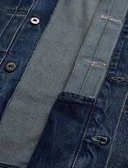Levi's Made & Crafted - LMC TYPE II WORN TRUCKER LMC Y - kurtki dżinsowe - med indigo - worn in - 4
