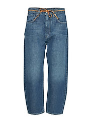 Lmc Barrel Lmc Tequilla Blue Boyfriend Jeans Blå LEVI'S MADE & CRAFTED