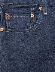 Levi's Made & Crafted - 501 CROP LMC RAW INDIGO - straight jeans - dark indigo - flat finish - 2
