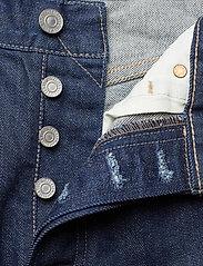 Levi's Made & Crafted - 501 CROP LMC RAW INDIGO - straight jeans - dark indigo - flat finish - 3