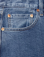 Levi's Made & Crafted - 501 CROP LMC CLIFFSIDE - straight regular - med indigo - worn in - 2