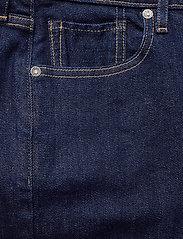 Levi's Made & Crafted - LMC 721 S LMC SKI SOFT RINSE - skinny jeans - dark indigo - flat finish - 2