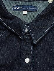 Levi's Made & Crafted - LMC S SHRNKN DNM SHIRT LMC SHR - chemises en jeans - dark indigo - flat finish - 2