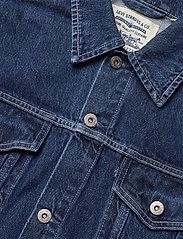 Levi's Made & Crafted - LMC OVRSZD RANCH DRESS LMC RIG - shirt dresses - dark indigo - flat finish - 2