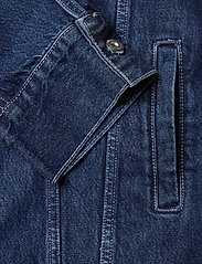 Levi's Made & Crafted - LMC OVRSZD RANCH DRESS LMC RIG - shirt dresses - dark indigo - flat finish - 3