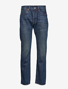 501 LEVISORIGINAL FIT LMC TONA - regular jeans - med indigo - flat finish