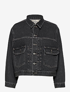 LMC BOXY TYPE II TRUCKER LMC L - jeansjackor - blacks