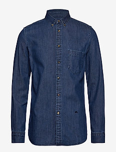 LMC STANDARD SHIRT LMC FRIDA B - chemises shirts - blues