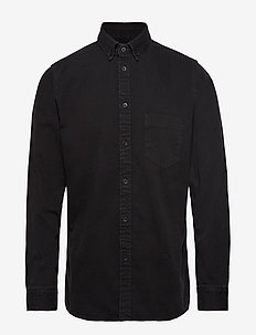 LMC STANDARD SHIRT LMC WASHED - oxford shirts - blacks