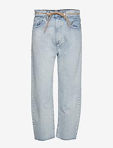 LMC BARREL LMC CRISP SKY - proste dżinsy - light indigo - worn in