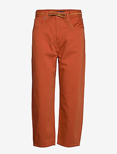 LMC BARREL LMC AUTUMN GLAZE - straight jeans - reds