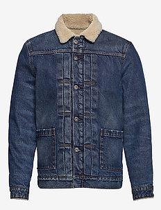 LMC TYPE II SHERPA TRUCK LMC P - vestes en jean - dark indigo - flat finish