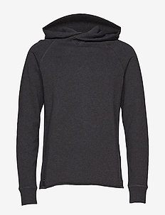 LMC UNHEMMED HOODIE OBSIDIAN H - basic sweatshirts - blues