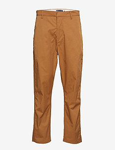 LMC TAPER TROUSER LMC TOBACCO - pantalons chino - yellows/oranges