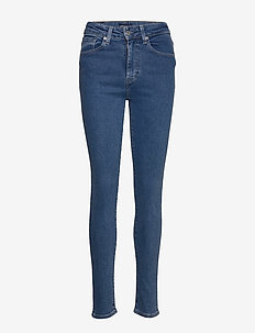 LMC 721 LMC BLUE POOL - dżinsy skinny fit - med indigo - flat finish