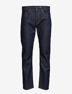 LMC 502 LMC RESIN RINSE STRETC - regular jeans - dark indigo - worn in