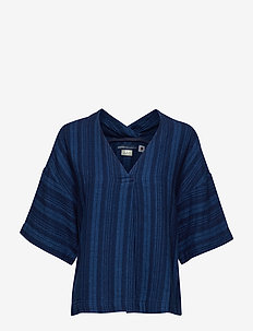 LMC FIELD SHIRT LMC INKY PONCH - BLUES