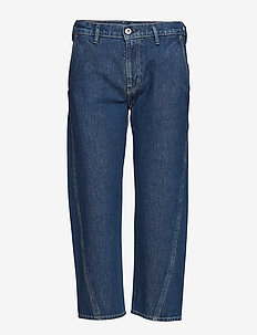 LMC FIELD PANT LMC NIGHT FALL - vida byxor - dark indigo - flat finish