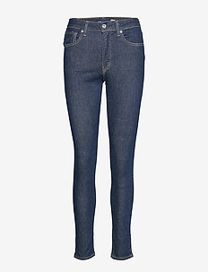 LMC 721 S LMC SOFT SELVEDGE RI - dżinsy skinny fit - dark indigo - flat finish