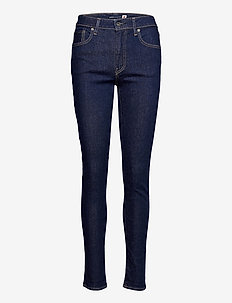LMC 721 S LMC SKI SOFT RINSE - skinny jeans - dark indigo - flat finish