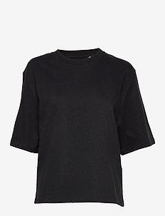 LMC OVERSIZED SLEEVE TEE LMC J - t-shirty - blacks