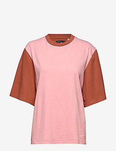LMC OVERSIZED SLEEVE TEE LMC P - t-shirts - multi-color