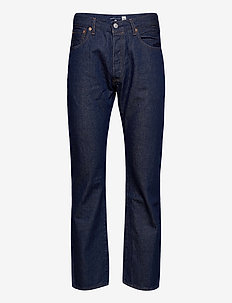 501 93 STRAIGHT LMC EVEREST - regular jeans - dark indigo - flat finish