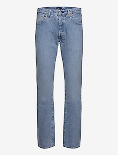 501 93 STRAIGHT LMC WHEELER - regular jeans - light indigo - flat finis