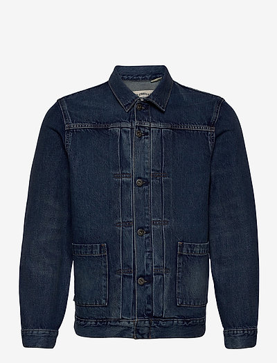 LMC TYPE II WORN TRUCKER LMC Y - denim jackets - med indigo - worn in