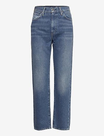 LMC THE COLUMN LMC SAPPHIRE - mom jeans - blacks