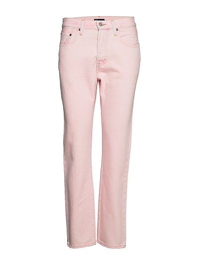 501 Jeans For Women Lmc Desert Straight Jeans Hose Mit Geradem Bein Pink LEVI'S MADE & CRAFTED