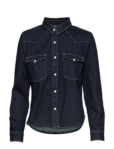 Lmc S Shrnkn Dnm Shirt Lmc Shr Langärmliges Hemd Blau LEVI'S MADE & CRAFTED   LEVI'S SALE