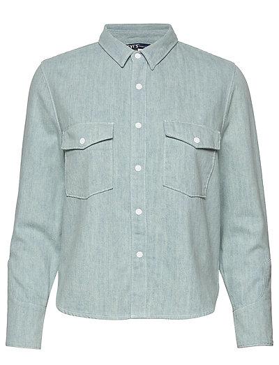 Lmc Shrunken Dnm Shirt 2 Lmc B Langärmliges Hemd Blau LEVI'S MADE & CRAFTED   LEVI'S SALE