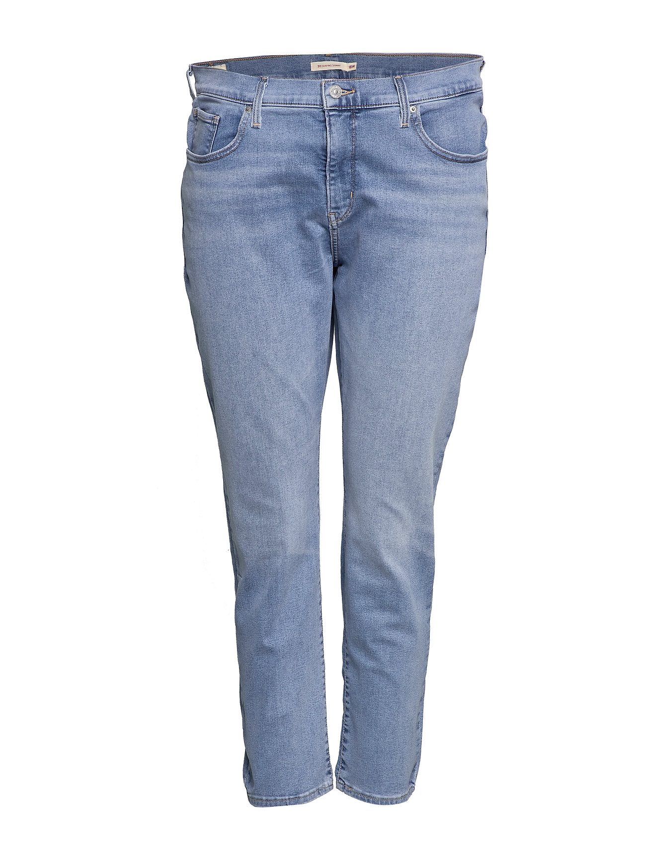 Levi's Plus Size 311 PL SHAPING SKINNY BERLIN S - LIGHT INDIGO - WORN IN