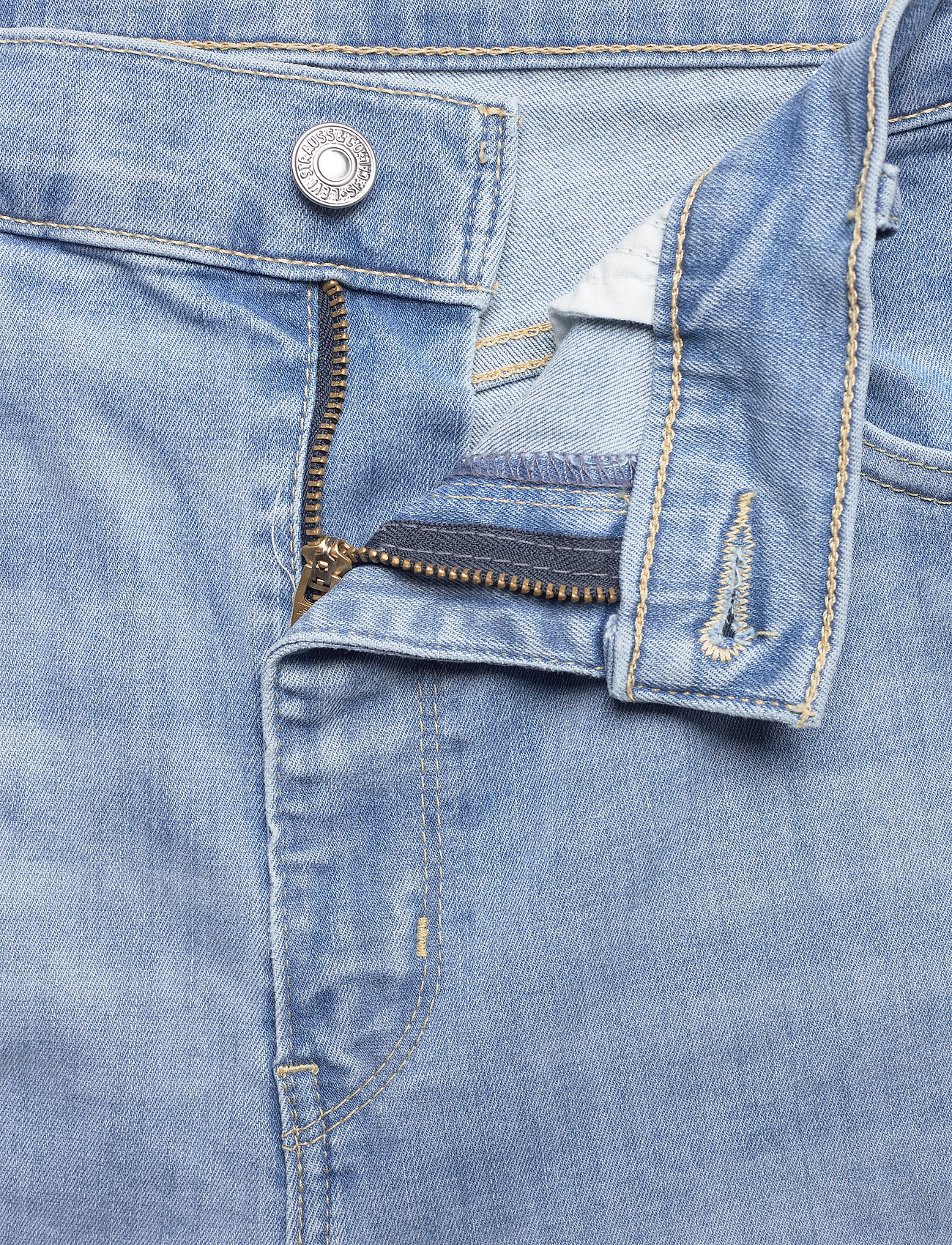 Levi's Plus Size - PLUS MILE HIGH SS GALAXY HAZY - skinny jeans - med indigo - worn in - 3