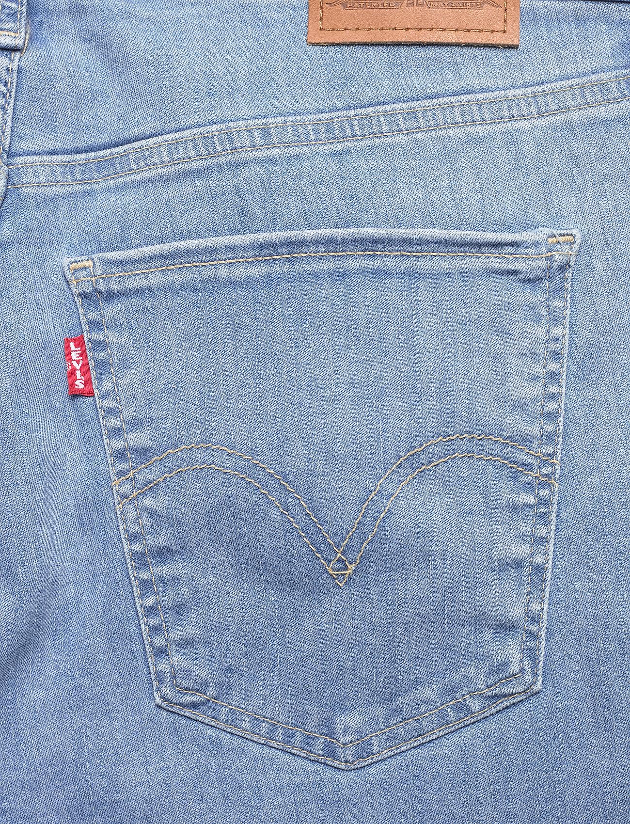 Levi's Plus Size - PLUS MILE HIGH SS GALAXY HAZY - skinny jeans - med indigo - worn in - 4