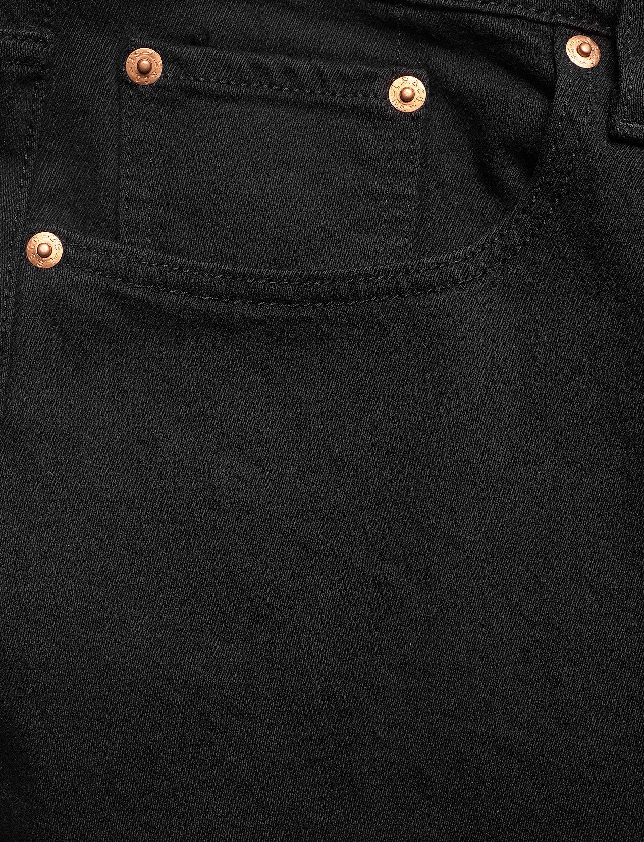 Levi's Plus Size - PL RIBCAGE STRAIGHT ANK BLACK - raka jeans - blacks - 2