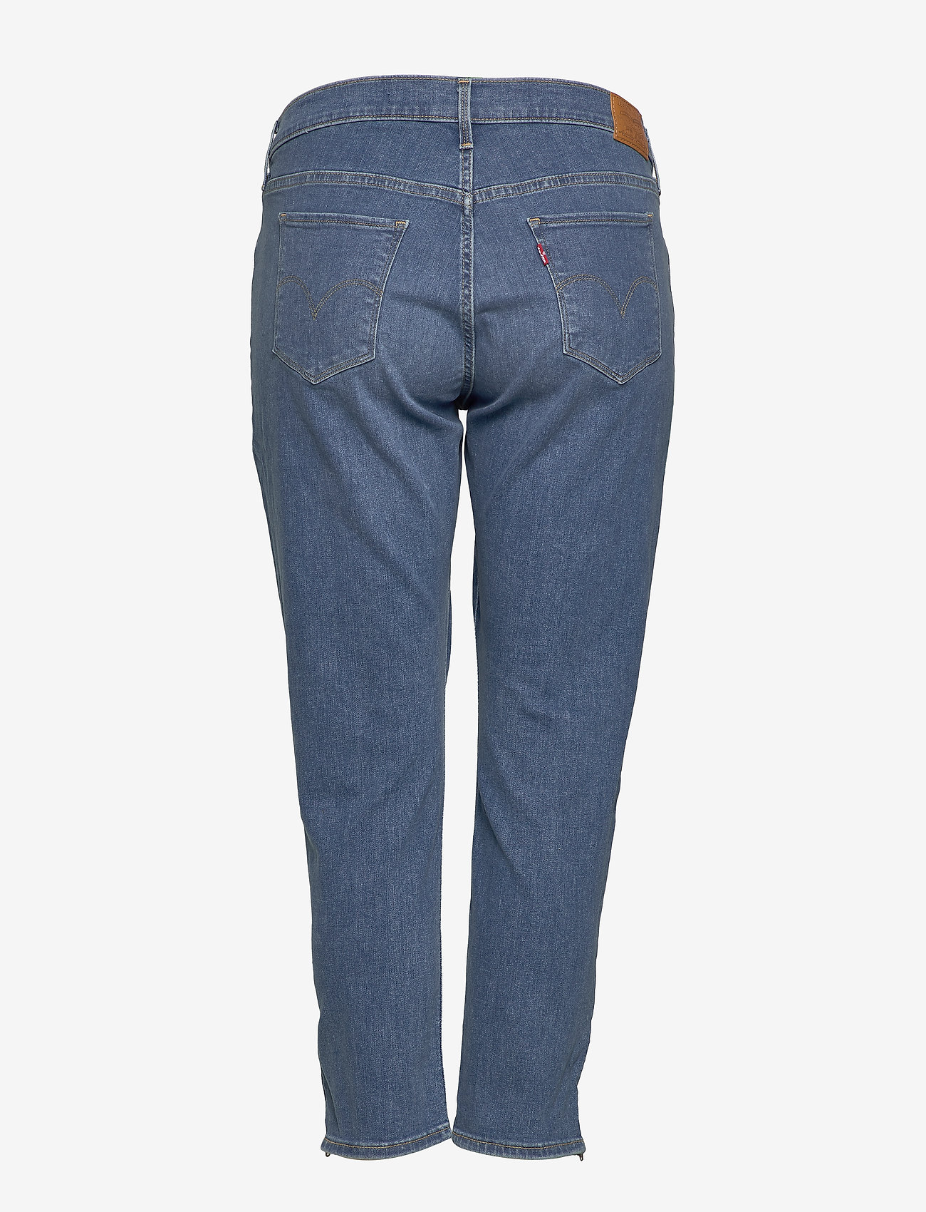 Levi's Plus Size 311 Pl Skinny Ankle Zip New Yo - Jeans Med Indigo Worn In