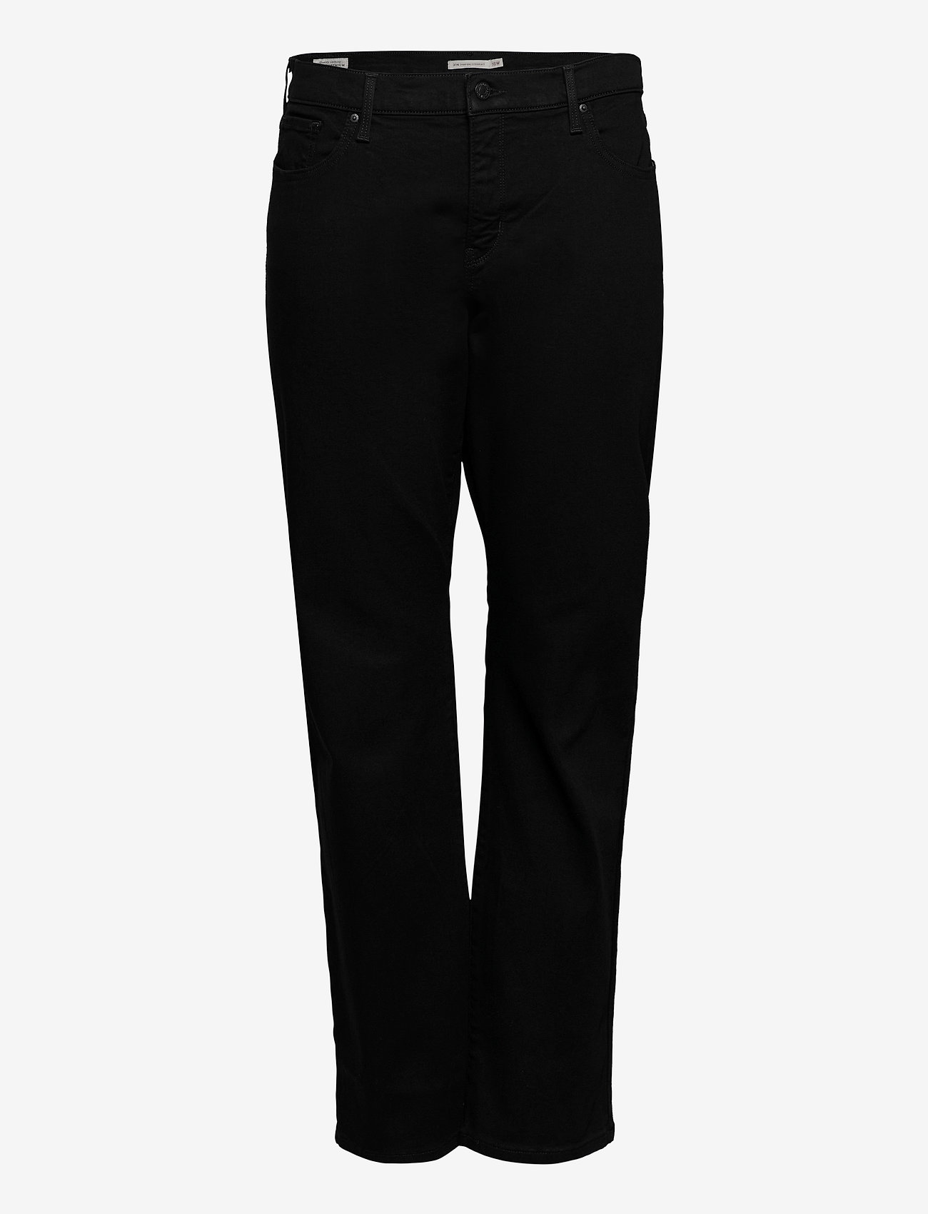 Levi's Plus Size - 314 PL SHAPING STRAIGHT 4X STR - straight jeans - blacks - 0