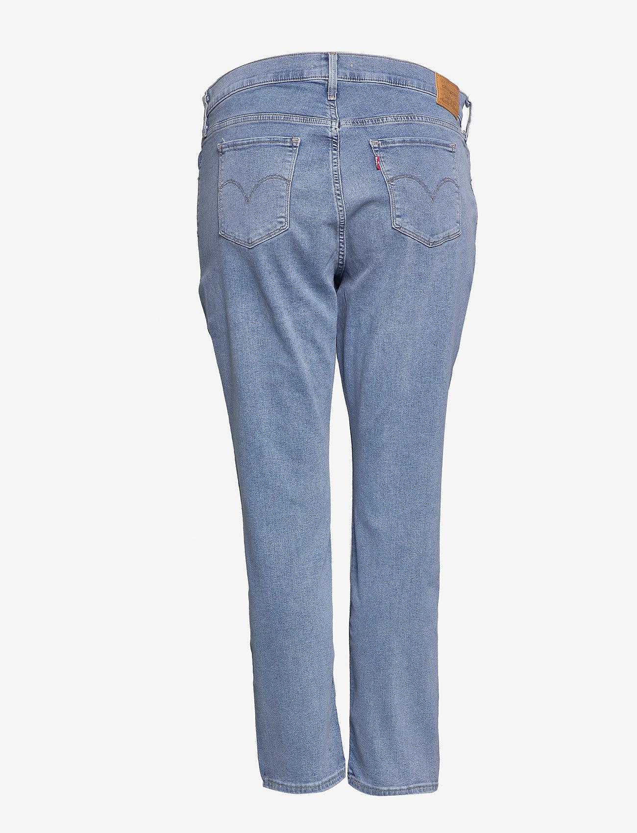 Levi's Plus Size - 311 PL SHAPING SKINNY BERLIN S - jeans skinny - light indigo - worn in - 1