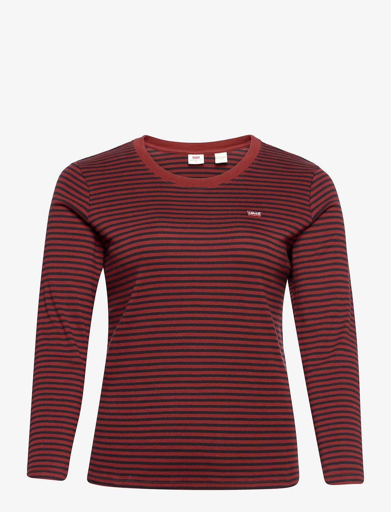Levi's Plus Size - PL LONG SLEEVE BABY TEE AYA MA - t-shirt & tops - multi-color - 0