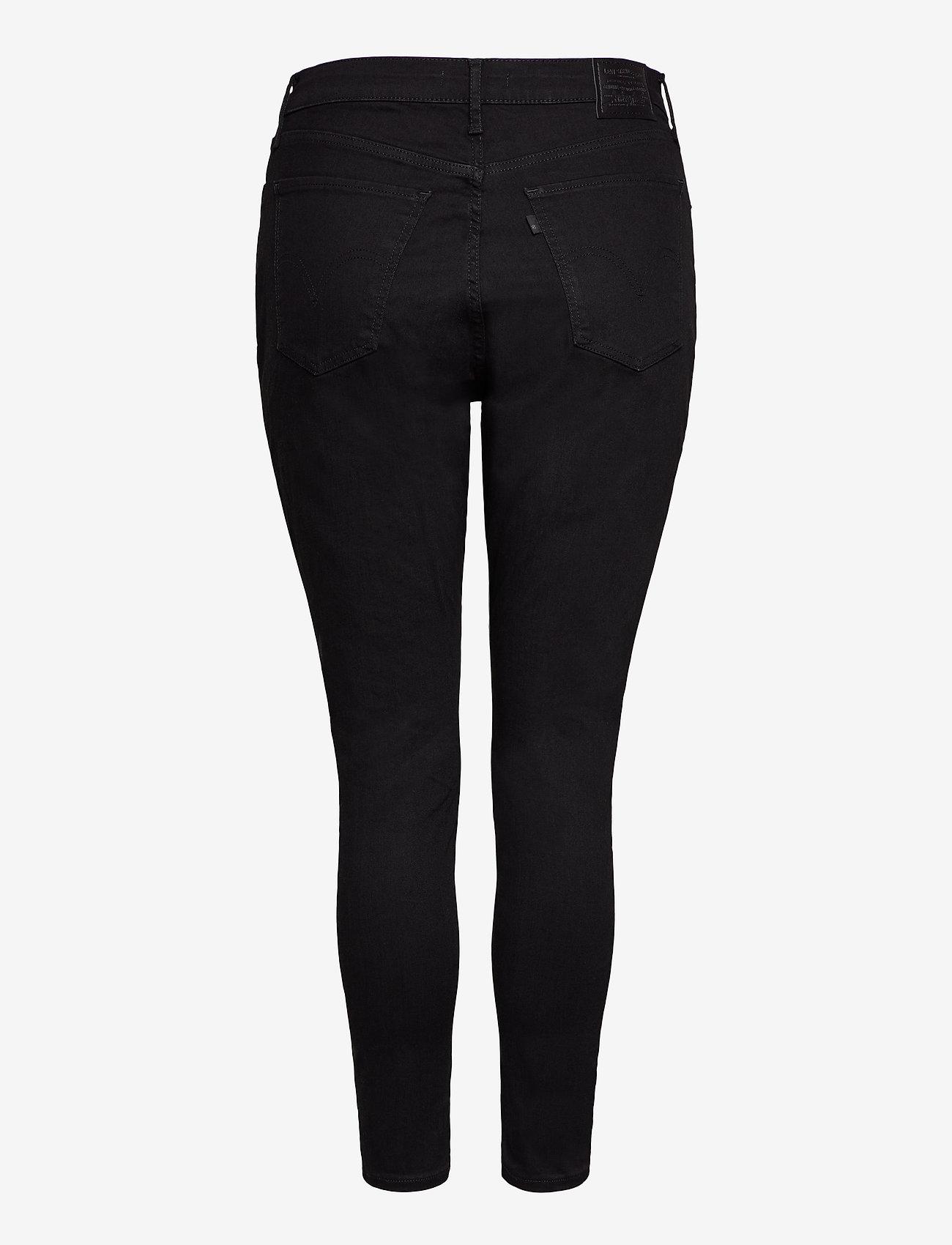 Levi's Plus Size - PLUS MILE HIGH SS BLACK CELEST - skinny jeans - blacks - 1